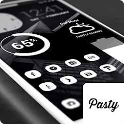 Pasty - White Icon Pack (Pro Version)