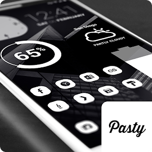 Pasty – Clean White Flat Theme v2.1.0 APK