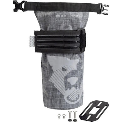 Wolf Tooth B-RAD TekLite Roll-Top Bag and Mounting Plate - 1L Black