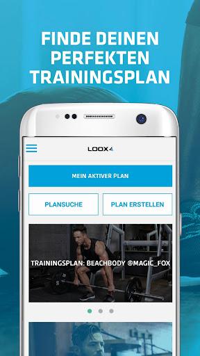 LOOX Fitness Planer screenshot 1