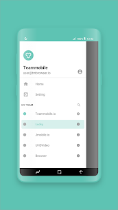 Team Browser- New concept of shareable browser Apk  Download For Android 7