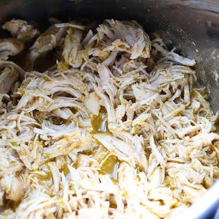 Instant Pot Salsa Verde Chicken