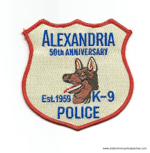Photo: Alexandria Police, Canine 50th Anniversary