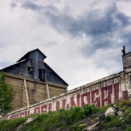Lime Cement Plant  by Todd Reynolds - Buildings & Architecture Decaying & Abandoned