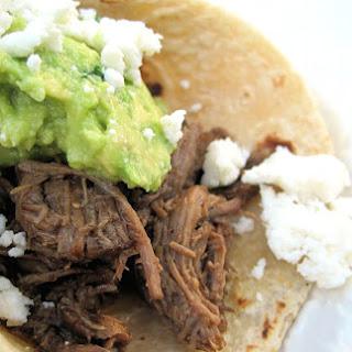 Tacos de Barbacoa.