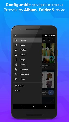 doubleTwist Music & Podcast Player with Sync 3.3.5 screenshots 3
