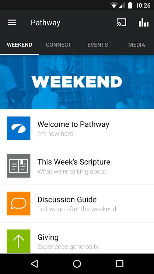 Pathway Church- screenshot