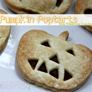 Homemade Pumpkin Poptarts {from Weelicious Lunches}.