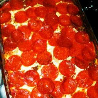 Pizza Casserole With Egg Noodles Recipes.