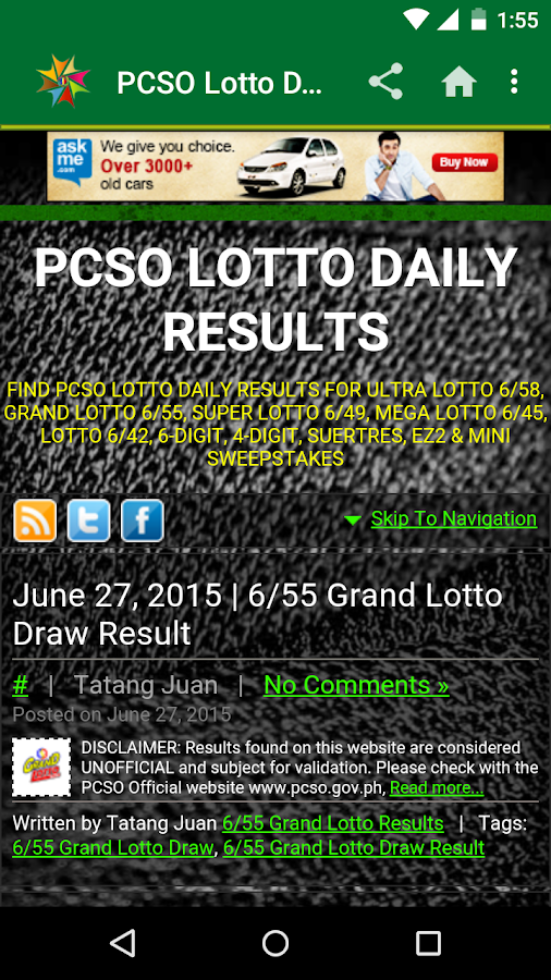Pcso online keno results / Play blackjack for free online no download