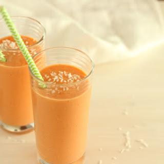 Carrot Cake Mango Smoothie.