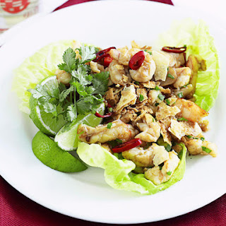 Prawn Lettuce Wraps
