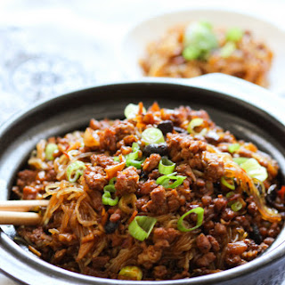 Minced Meat Vermicelli Recipes.