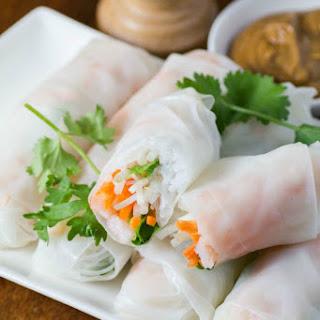 Fresh Vietnamese Summer Rolls