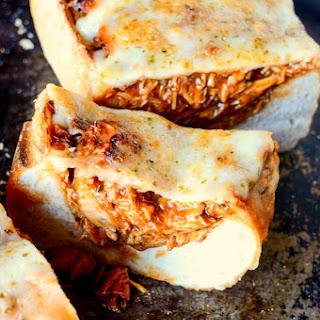 BBQ Chicken Stuffed Bread.