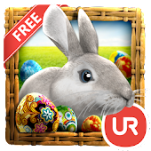 UR 3D Easter Eggs Live Theme