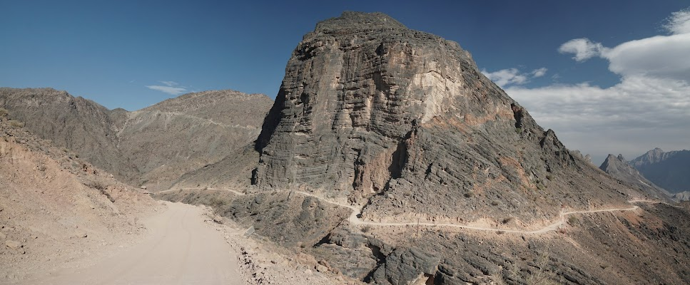 Weg ins Wadi Bani Awf