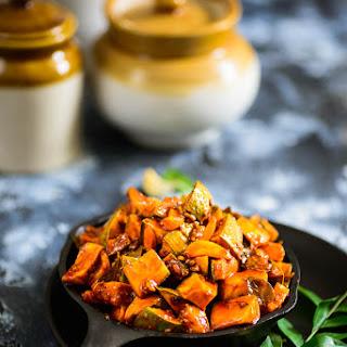 Kerala Style Instant Mango Pickle | Onam Sadya