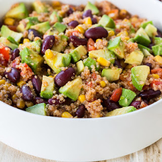 6-Ingredient Mexican-Style Quinoa Salad.