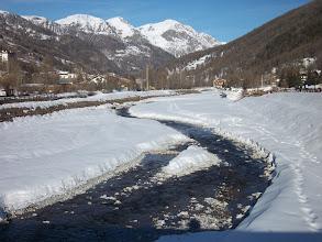 Photo: Acquaro Simona_Torrente Chisone fra la neve a Pragelato