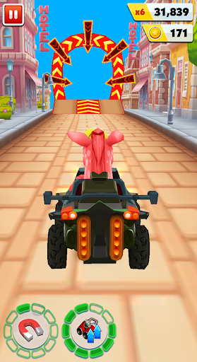 Pony Craft Unicorn Car Racing - Pony Care Girls 1.0.11 screenshots 2