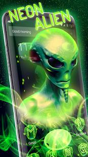 Neon Alien Technology 3D - náhled