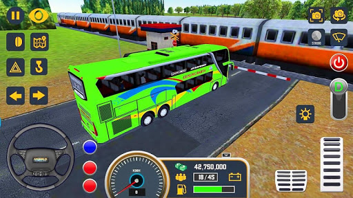 Modern Bus Simulator Drive 3D: New Bus Games Free screenshots 11