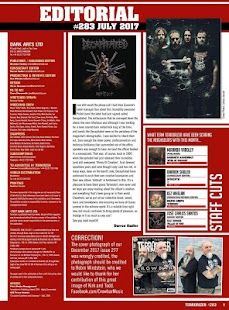 Terrorizer Magazine- screenshot thumbnail