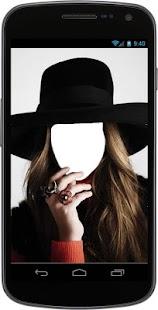 Girls Hat Selfie - náhled