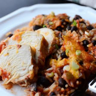 Chicken Salsa Casserole.