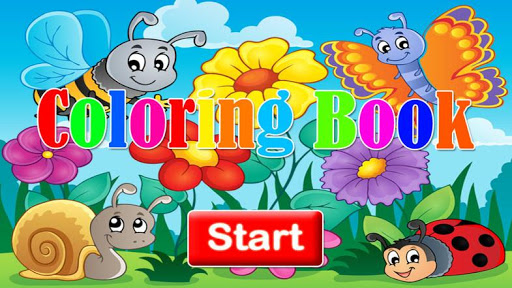 Toddlers Coloring Game