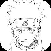 Sketsa Gambar Narutoo Anime