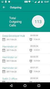 Call Log Monitor - náhled