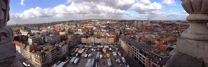 Photo: 27/02/2015 - uitzicht op Leuven vanop de universiteitstoren