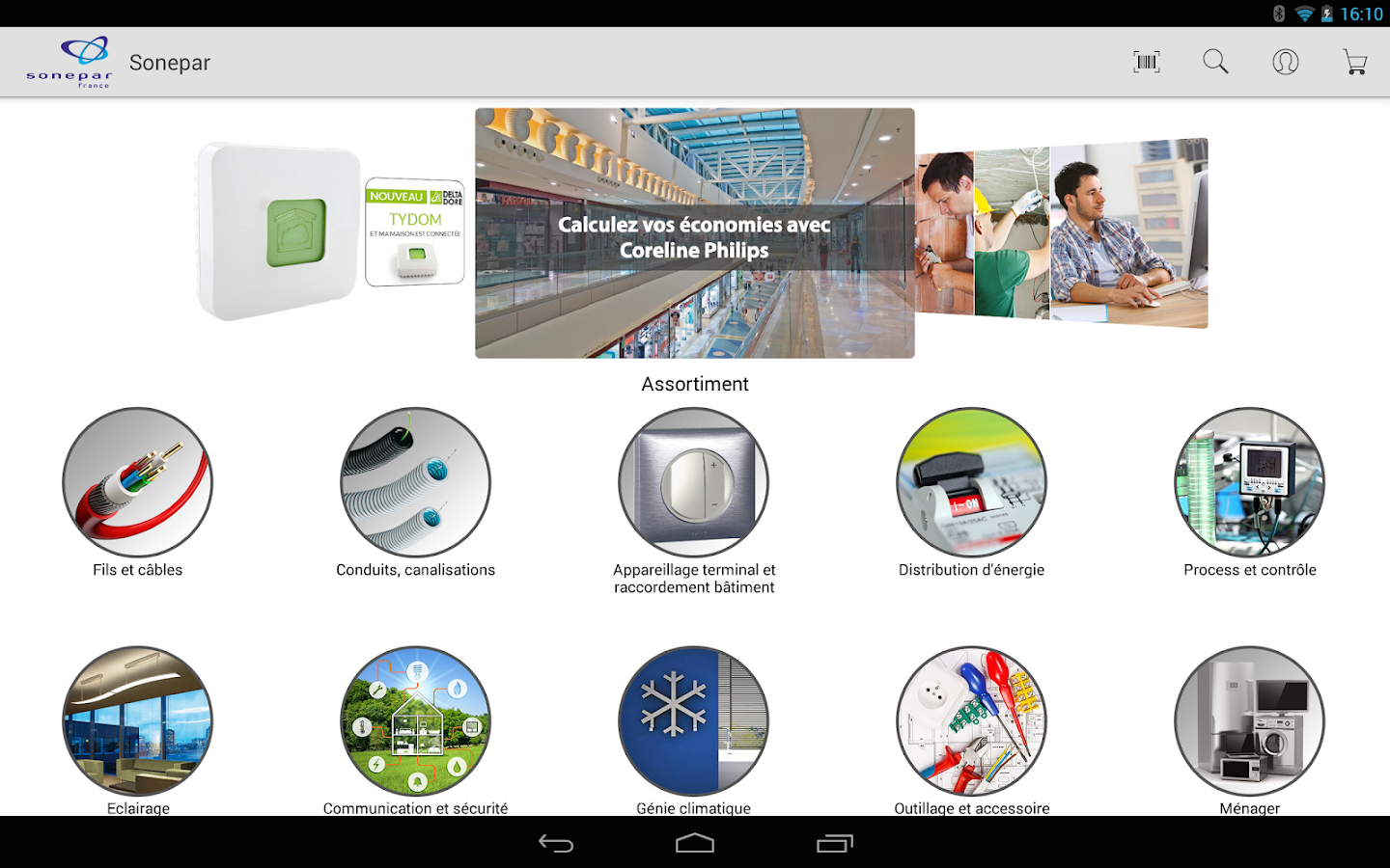 Soneshop Applications Android Sur Google Play