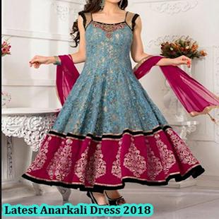 Latest Anarkali Dress 2018 - náhled