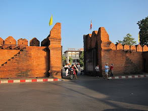 Photo: Inside Tha Phae gate (reconstructed)
