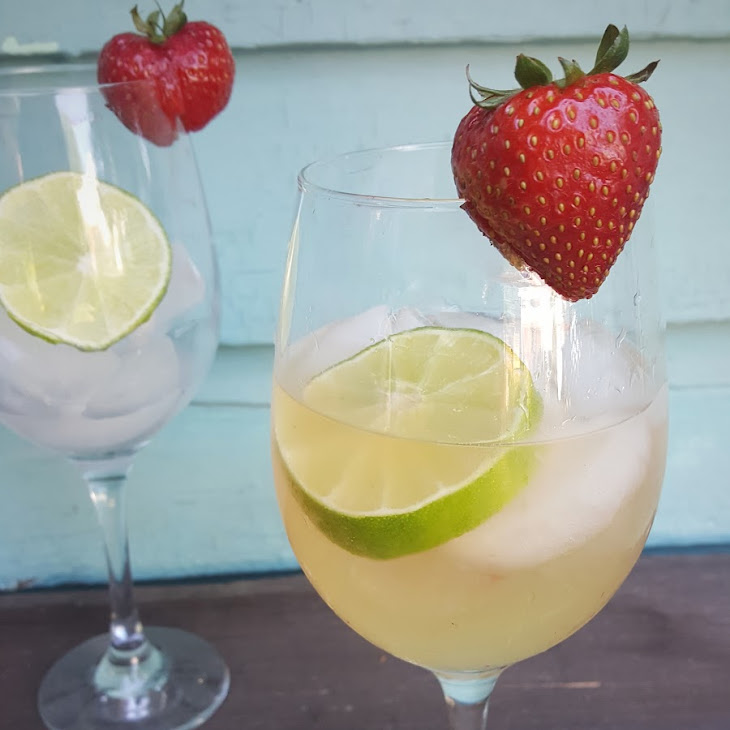 Strawberry Lime Pisco Sangria Recipe