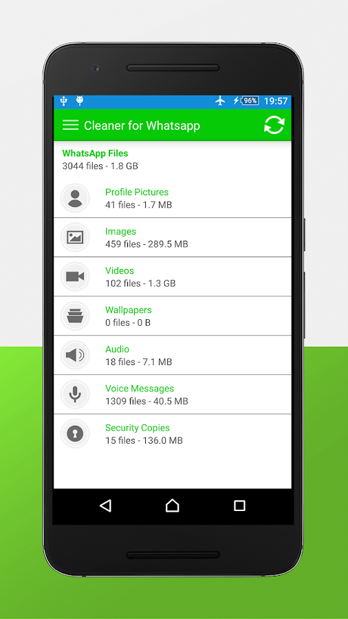 Cleaner for whats App- screenshot