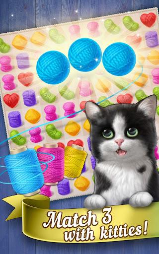 Knittens: Sweet Match 3 Puzzles & Adorable Kittens 1.31.130251 screenshots 1