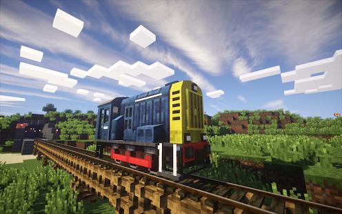 Mod Train 2018 Pro for MCPE - náhled