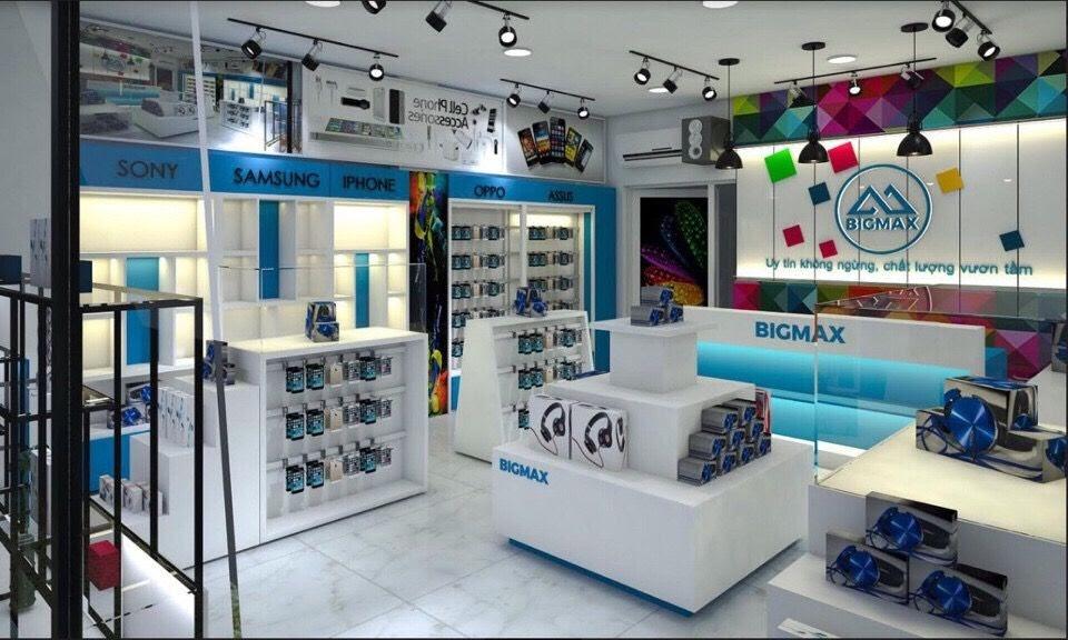 thiết kế shop phụ kiện điện thoại chuyên nghiệp