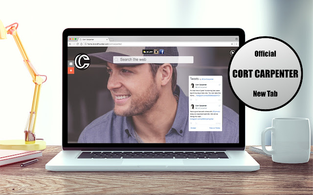 OFFICIAL Cort Carpenter New Tab