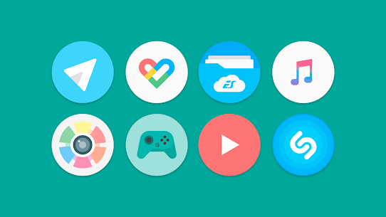 Flat Pie – Icon Pack 1.1 Patched 3