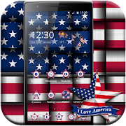 American Flag theme US Flag