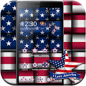 American Flag theme US Flag