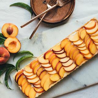Peaches n' Corn Tart
