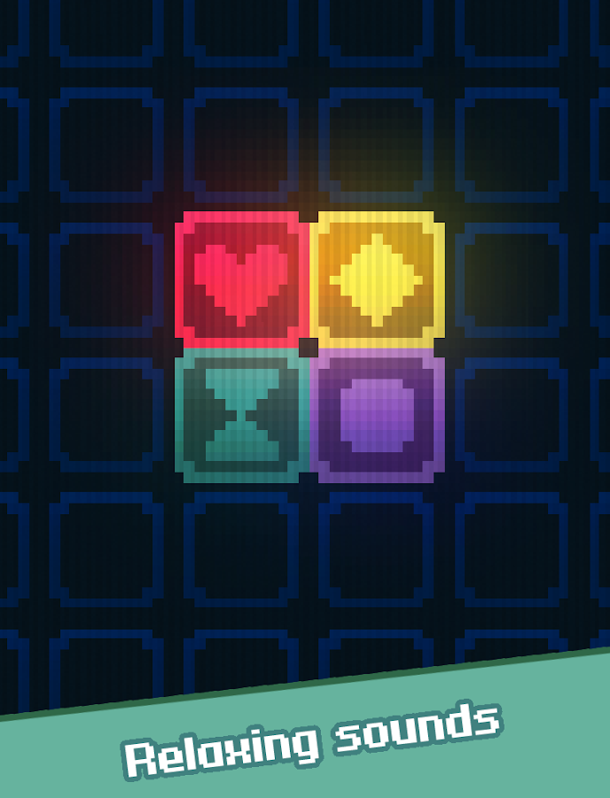 Glow Grid - Retro Puzzle Game- screenshot