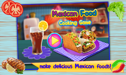 Mexican Food Cooking Game - náhled