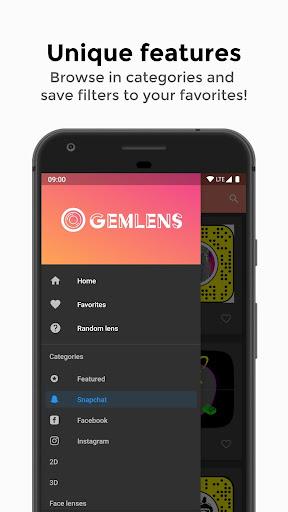 GemLens - Filters and Lenses for Social Media 4.0 screenshots 2